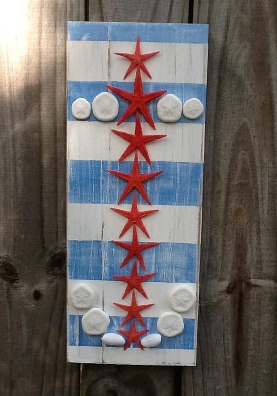 AHOY MATEY.......Patriotic Starfish Anchor by My Honeypickles on Etsy