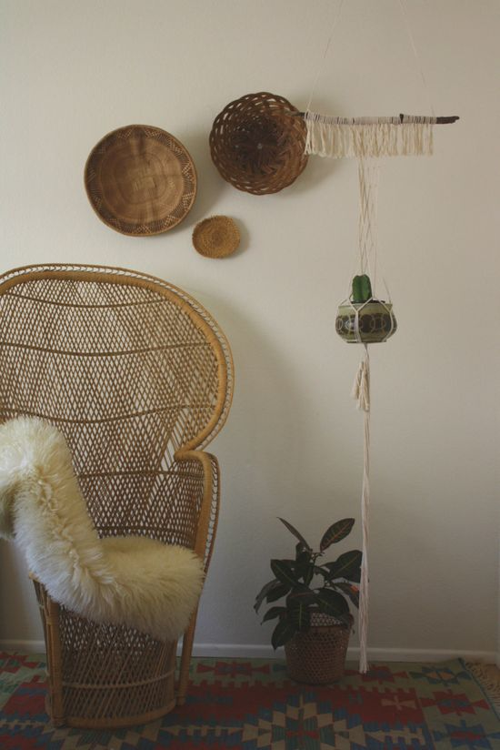 abilene / / simple and chic handmade macrame by acupfullofsunshine, $52.00