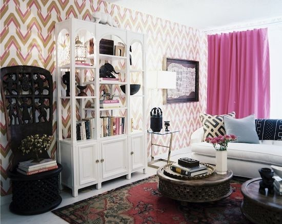 Wallpaper by @ahrochic for a house i did on SFAS.