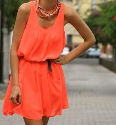Orange You Glad You Wore Orange? Dresses