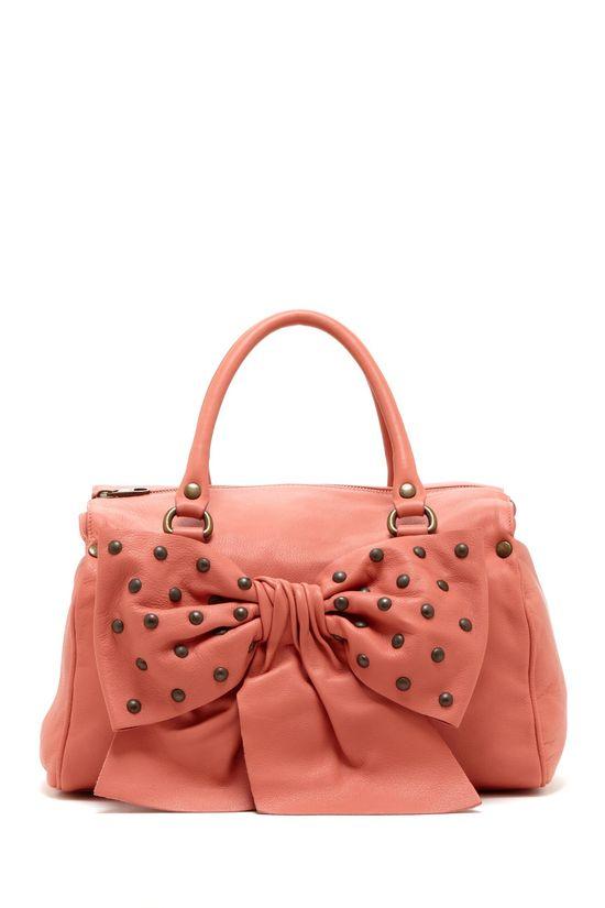 RED Valentino Studded Bow Handbag
