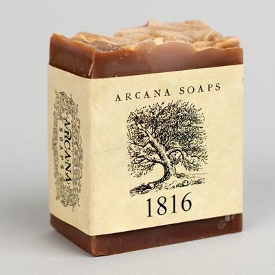1816 handmade soap, $7