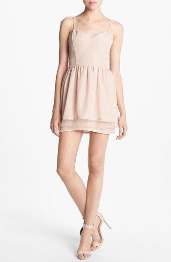 Elastic Back Dress /