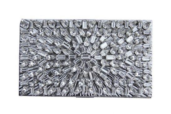 1920s Deco Rhinestone Clutch. $375.00, via Etsy.