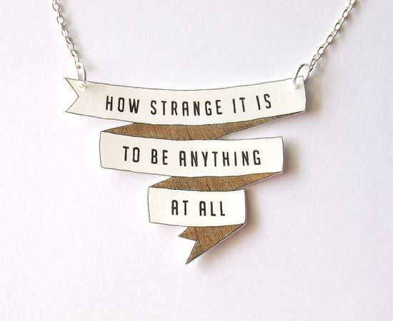 necklace by rare indeed on etsy.