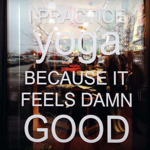 #YOGA- Why do you practice yoga?