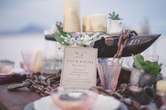 Blacksmith Inspired Wedding Ideas