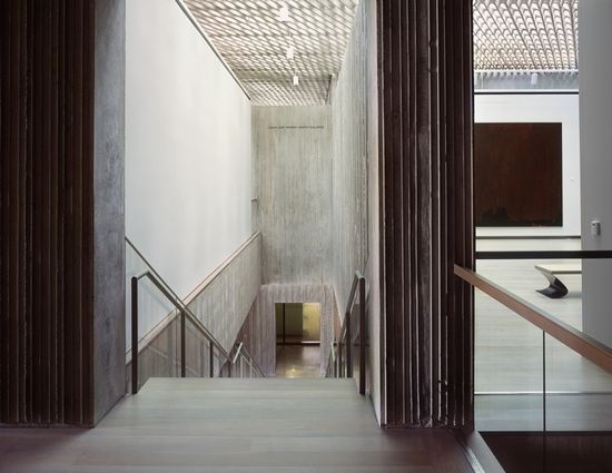 Clyfford Still Museum Interior, Allied Works Architecture