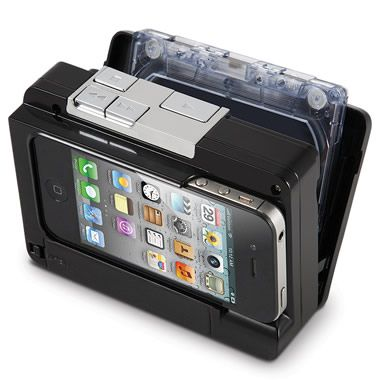 The Cassette To iPod Converter - Hammacher Schlemmer