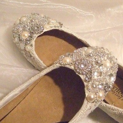 Flat Cinderella shoes