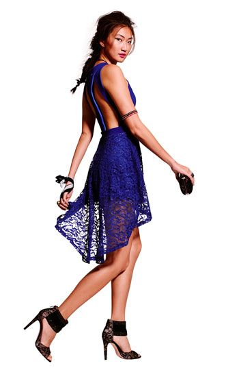 Lace Trend: Lush Dress & Accessories #BP #Nordstrom #Prom