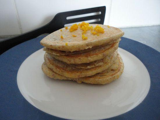 Vegans Eat Yummy Food Too!!!: Orange Pancakes