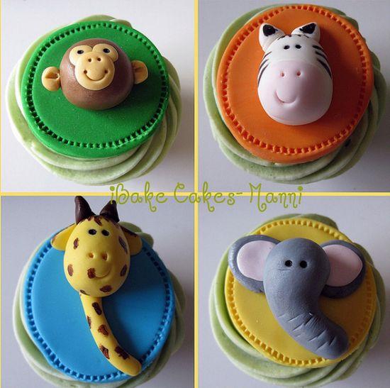 A-Z Cupcake Animals