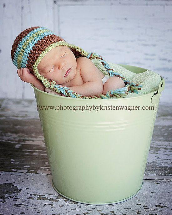Newborn photo hat
