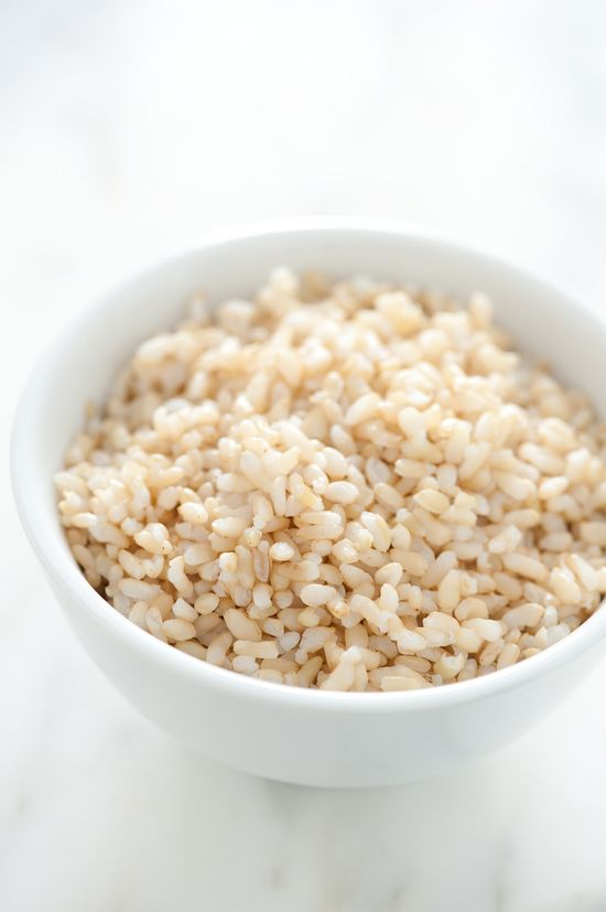 The secret to perfectly-cooked brown rice
