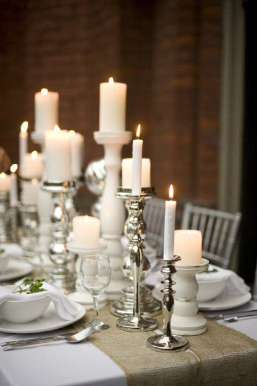 Verdigris Vie: Winter Wedding - technically for a wedding, but the ideas could be translated to home dec for the holidays