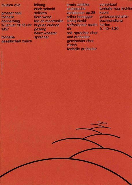 Zurich Tonhalle — Josef Müller-Brockmann