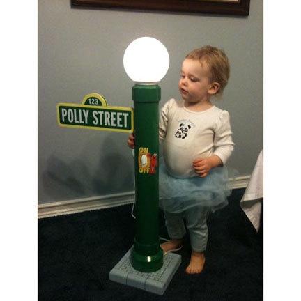 Sesame Street lamp.