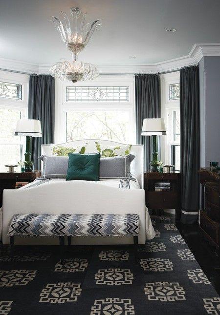 Calming Grey Bedroom