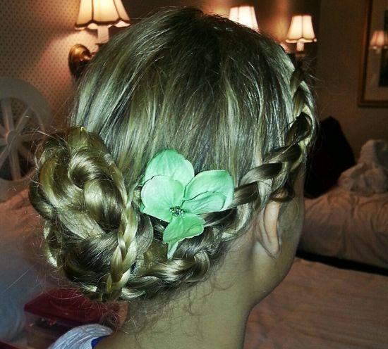 FLOWER GIRL HAIRSTYLE Hairstyle#flowergirl#braids#orlandohairstylist