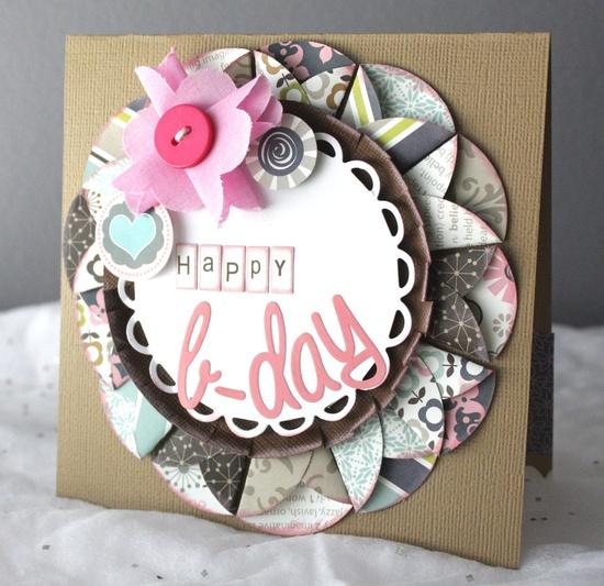 Happy Birthday card - Scrapbook.com