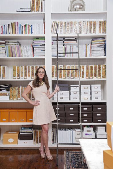 the shelving/storage! -- Tara Guérard's office