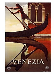 Venezia Vintage Travel Poster