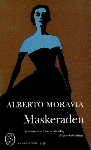 """maskeraden"" alberto moravia - sven olov ehrén 1964"