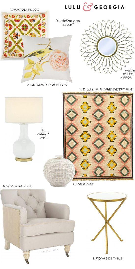 such pretty home decor accessories from @Laura Jayson Mcfarlane & Georgia