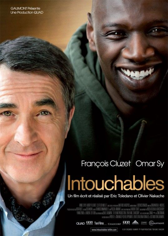 Intouchables Wonderful. Omar Sy is so charming and likable. Lovely film based on real people and a real relationship