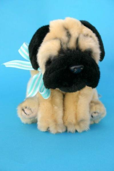 Cupcake-Pug stuffed animal