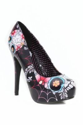 Skull shoes!