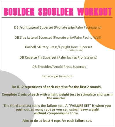 Shoulders with Kimberly Ho #fitfluential
