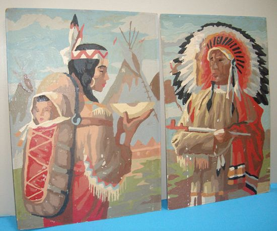 Native American pair