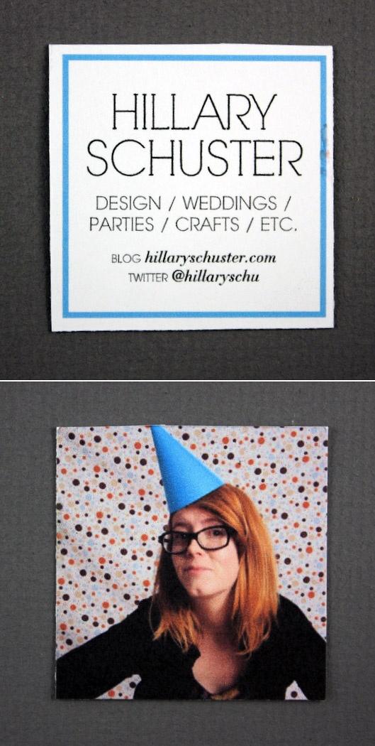 Hillary Schuster hillaryschuster.com {Her picture sets her apart}