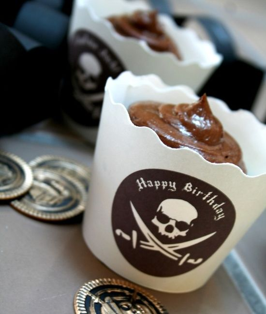 Pirate Birthday PRINTABLE PARTY COLLECTION - Customizable