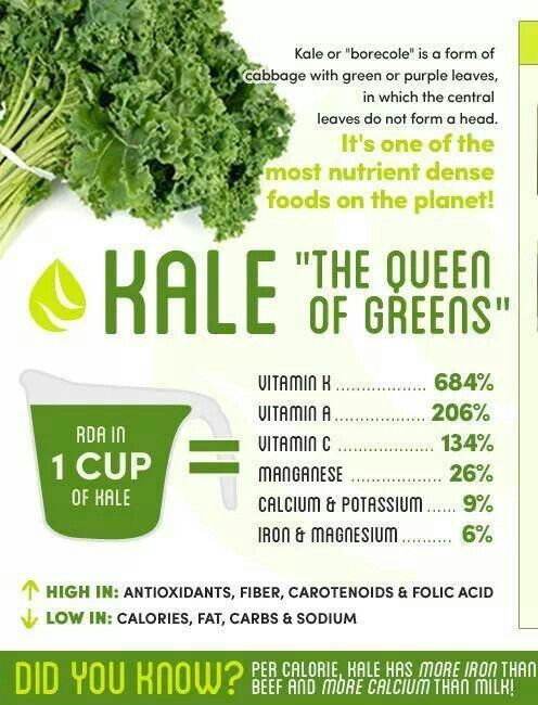Kale is good for you...and it's one of the best tasting greens, in our opinion.