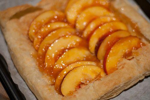 Peach Tart Recipe - Cooking