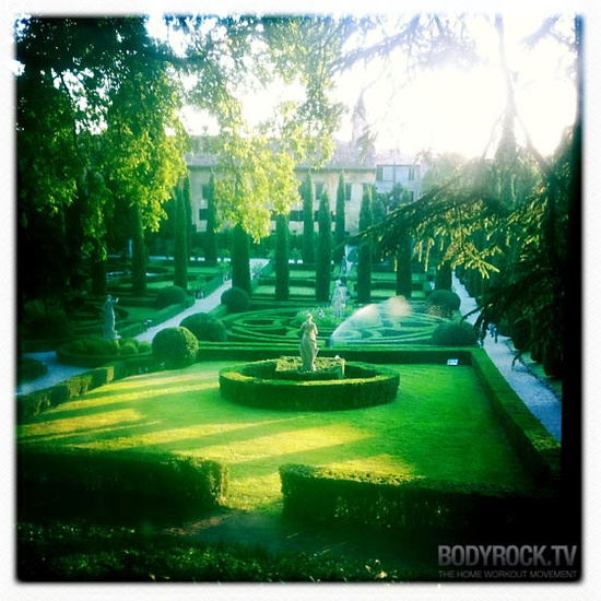Giardino Giusti in Verona. Can't believe I didn't go there when I was there...