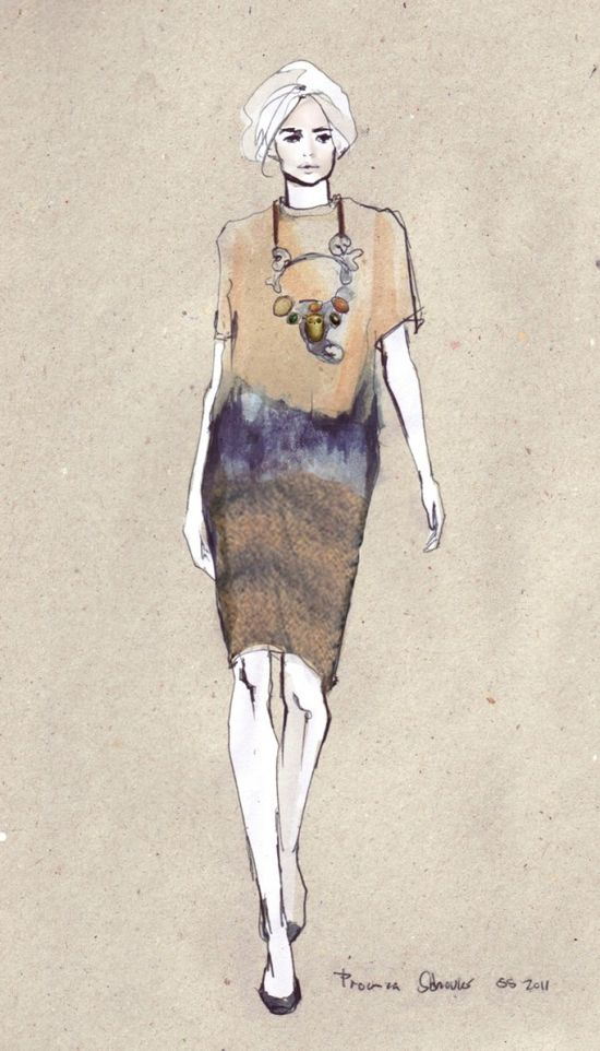 BUKANOVA FASHION ILLUSTRATIONS