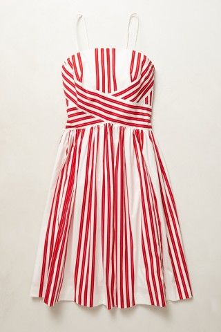 Archival Collection: Striped Dress #anthropologie