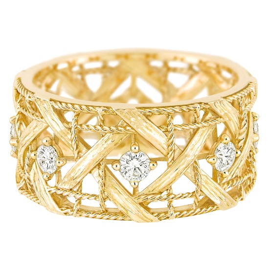 My Dior - Ring in 18K yellow gold and diamonds. Discover more on www.dior.com
