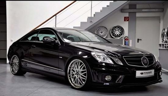2013 Mercedes Benz E-Class Coupe Black Desire