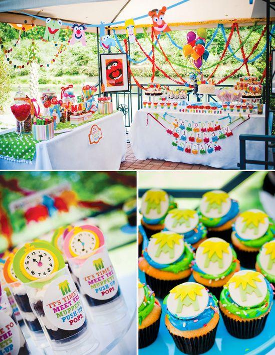 Muppet Theme Birthday Party