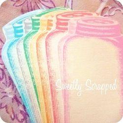 Colorful Vintage Mason Jars  #crafts #diy #masonjar #recipe #cooking