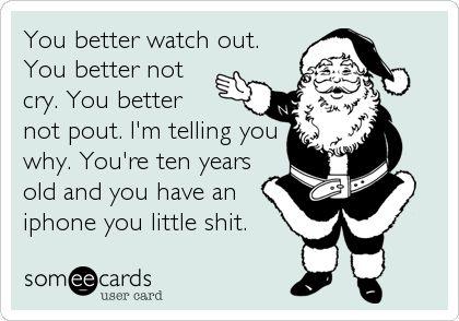 Preach it, Santa
