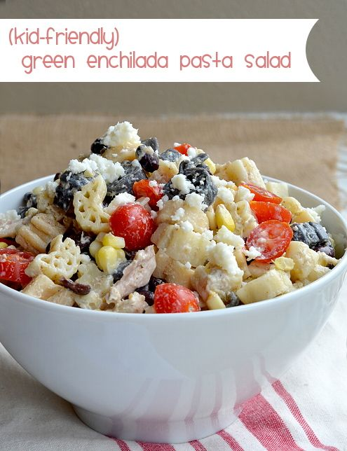 Green Enchilada Pasta Salad