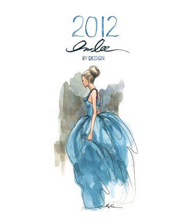 Fashion Illustration for Calendar