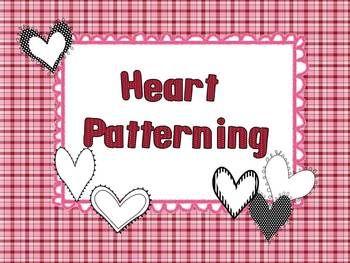 Valentine Heart Patterning Freebie