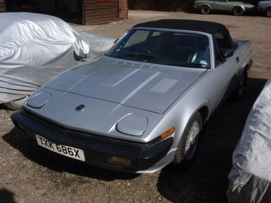 The Triumph TR7 is such a classic sports car